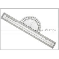 Buy cheap Plastic Pilot Flight Ultimate Fixed Plotter with Nautical Statute Conversion for from wholesalers