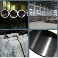 Buy cheap Custom ST52 carbon steel honed tubes , Cold drawn seamless steel tube from wholesalers