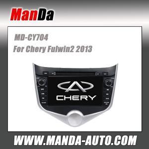 Quality Manda 2 din car dvd gps for Chery Fulwin2 2013 indash sat nav touch screen dvd satellite radio for sale