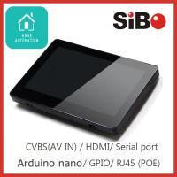 China Wall Mounted Touchscreen With SIP Protocol, PoE For Door Communication Solution on sale