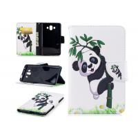 Lovely Panda Smartphone Wallet Case with Card Holder Smooth Or Matting Surface