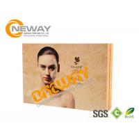 Buy cheap Beautiful Custom Made High Level Paper Cosmetic Packaging Boxes Environment Friendly from Wholesalers
