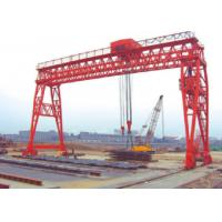 China Red / Yellow Economical 70t Truss Gantry Crane For Stockyards / Machinery Factory on sale