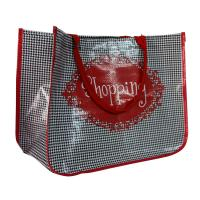 Quality Environmental Water Proof PP Woven Shopping Bags With 4C Printing for sale