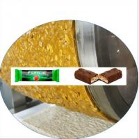 China SS Energy Bar Making Machine Industrial , Snack Fruit Cereal Bar Forming Machine on sale