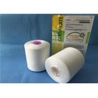 Buy cheap 40/2 TFO / Ring Spun Polyester Yarn / Sewing Machine Yarn With Plastic Cone from Wholesalers