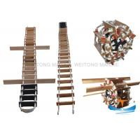 Quality Wooden Material Solas Embarkation Ladder Antiskid Surface For Climbing for sale