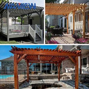 China Better Homes And Gardens Pergola 8 X 8 Waterproof Pergola Canopy on sale