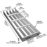 China 5mm thick mild  steel grating plate trench covers with galvanized sureface treatment on sale