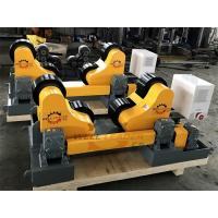 Quality Self Aligned Pipe Welding Rotator Rollers Turning Rolls Automatic Adjusted for sale