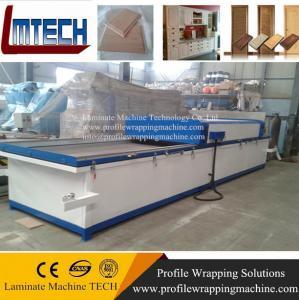 China clothes wardrobe closet rack Vacuum membrane press machine on sale
