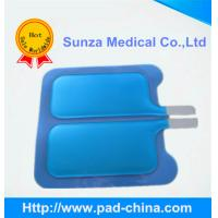 Buy cheap New arrival blue color Bipolar disposable adult/ child grounding pad(for Valleylab Unit) from Wholesalers