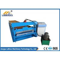 Quality 45# forged steel corrugated roof sheet roll forming machine,colorful metal roof for sale
