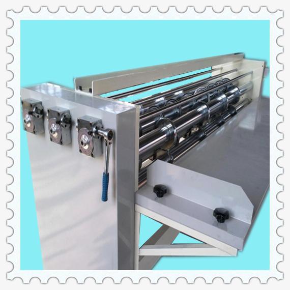 corrugated cardboard slitting creasing machine
