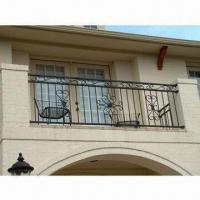 China Iron Balustrade, Customized Sizes are Accepted, with Anti-rust Painting, Elegant and Handmade on sale