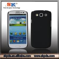 New coming PC hard case rubber cover for samsung galaxy s3(i9300) phone accessories
