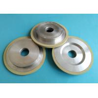 Ceramic Bond Diamond Grinding Wheels , 1A1 6A1 Shape Vitrified Grinding Wheel for sale