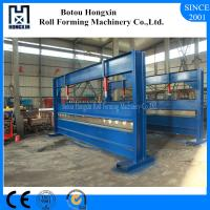 Buy cheap Colored Steel Hydraulic Plate Bending Machine, 4 Meter Sheet Bending Machine from wholesalers