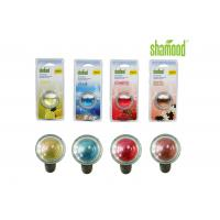 Long lasting Colorful Round Crystal Liquid Car Air Freshener Aromatous