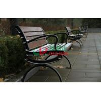 Quality Waterproof Garden Wood Plastic Composite Bench 150 * 60 * 78cm Fading Resistance for sale