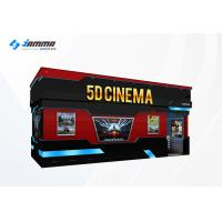Quality Optional Seats 5D Movie Theater Luxury Motion Chairs Flat Screen Dual Core Computer for sale