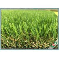 An - UV Soft Landscaping Fake Grass Carpet For Outdoor Decoration 8000 Dtex