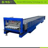 Quality Stable Corrugated Roof Sheet Making Machine , Roof Panel Roll Forming Machine for sale