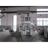 Quality Auto Multihead Weigher Packing Machine For Potato Chips Electric Driven Type for sale