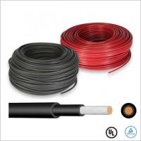 China Ozone Resistant Solar Cable Wire 1500V 6mm Solar PV Cable TUV Certified on sale