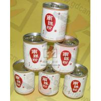 OEM Easy Open Lid Paper Cans Packaging Recyclable For Food