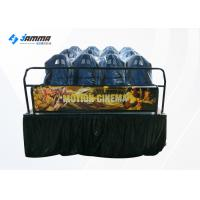 Quality Luxury 12 Seats Motion Chair 5D Cinema Simulator With 3D Glasses for sale