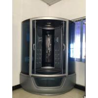 Quality ABS Material steam double shower cabin with tray ,  150 X 150 X 220 / cm complete shower cabins for sale
