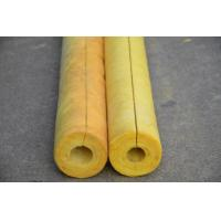 Quality 80 kg/m3 Glass Wool Air Conditioner Pipe Insulation , Non Combustible OEM for sale
