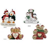 China Resin personalized Christmas ornaments gifts on sale