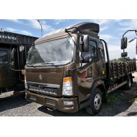 12 Ton Sinotruck Howo Cargo Truck For Short Distance Transport 115HP Engine