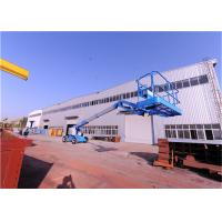 Quality Solid Tires Straight Boom Manlift ,Indoor Boom Lift Full Time Positive Traction Drive for sale