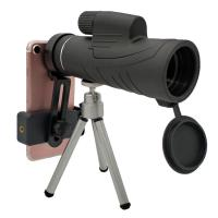 Fashion 10x42 Cell Phone Monocular With Tripod / Smartphone Mount