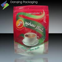 Quality Oxygen Resistance Coffee Beans Packaging Stand Up Pouches With Zipper for sale