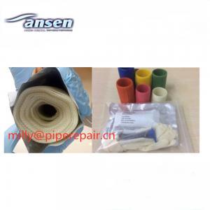 China Emergency Fiberglass Pipe Wrap Bandage Heat Resistant Crack Sealing Epoxy Putty on sale