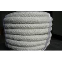Quality Round Ceramic Fiber Rope For Thermal Installations , Electric Insulation for sale