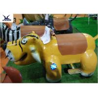 Quality Cartoon Ride On Motorized Stuffed Animals For Amusement Park / Game Center for sale