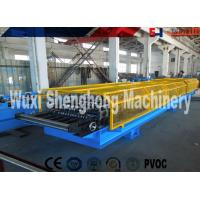 Quality PLC Control Sheet Roll Forming Machine , Wall Panels Roll Forming Line for sale