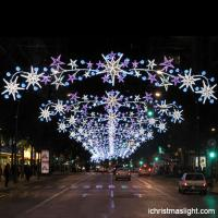 Outdoor Wholesale Light Up Across Street Lighted Led Motif