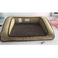 Quality Shredded Bolster Orthopedic Pet Beds For Large DogsSoft Surface Easy To Wash for sale