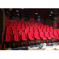 China High Tech Movie Theater Seats 3D Movie Cinema With Flat / Arc / Curved Screen System on sale