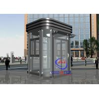 Buy cheap Enviroment Friendly Garden Tempered Glass Prefabricated Guard Booths Beautiful Mobile from Wholesalers
