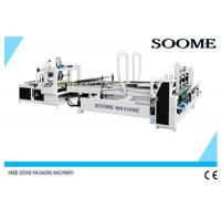Quality High Speed Automatic Folder Gluer Glue Circulation For Small Express Box , 140 M/Min for sale