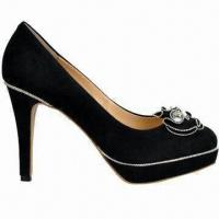 Quality High-heeled Dress Shoes, Suitable for Women, With Genuine Leather Upper and Pig Skin Lining for sale