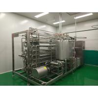 Quality Beverage Dairy Syrup Sterilization Equipment 5.5kw Power Automatic Control System for sale