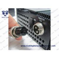 China 5.2G 5.8G 2.4G Wireless Signal Jammer High Reliability With Built - In Cooling Fans on sale